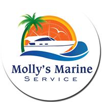 Molly's Marine Service Logo