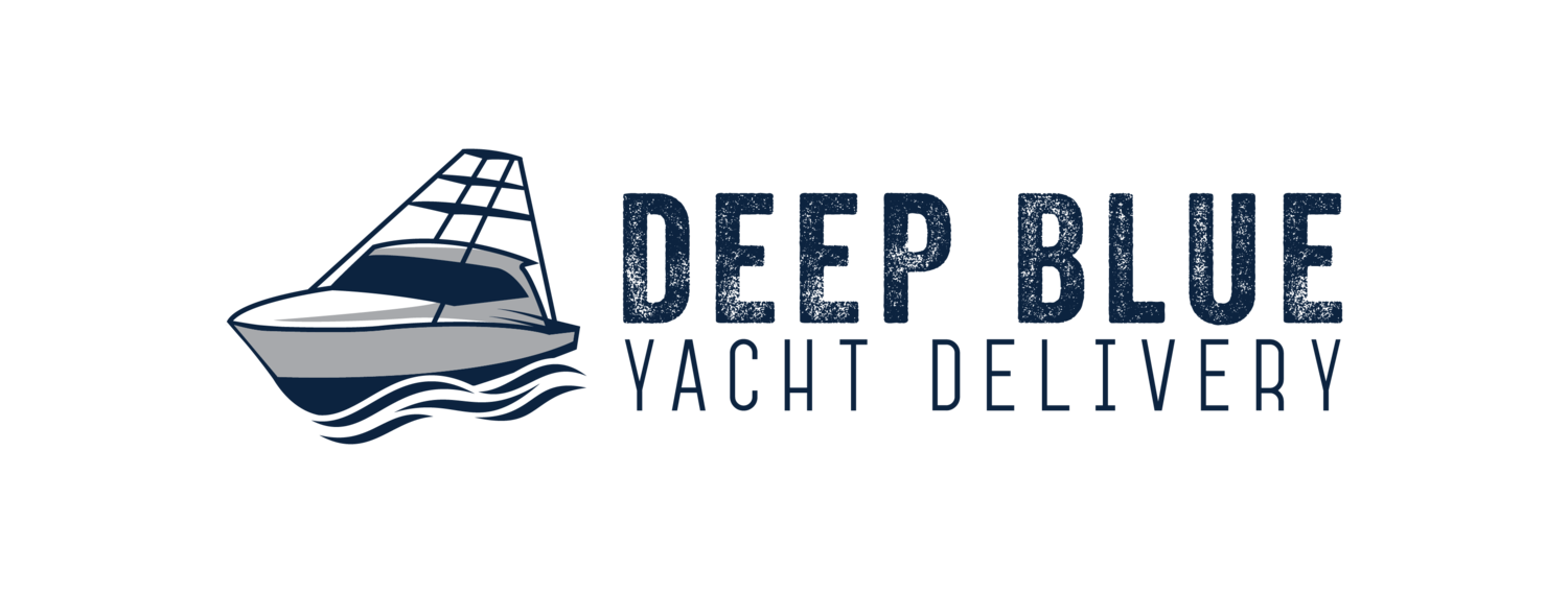 Deep Blue Yacht Delivery Logo