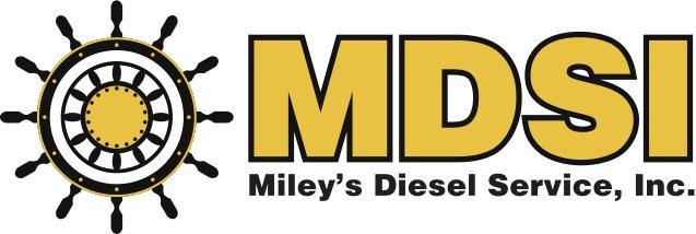 Miley's Diesel Service Logo